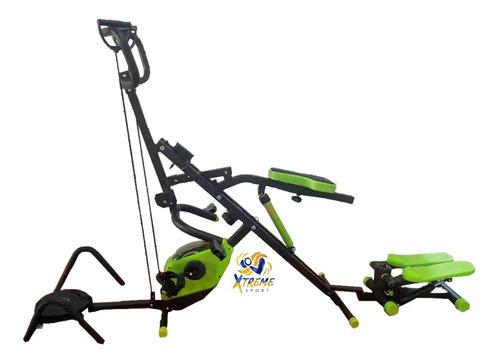 Total Revomax Crunch 6en1 +escaladora´+ligas+disco+bicicleta