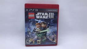 Lego Star Wars 3 - Ps3 - Midia Fisica Em Cd Original