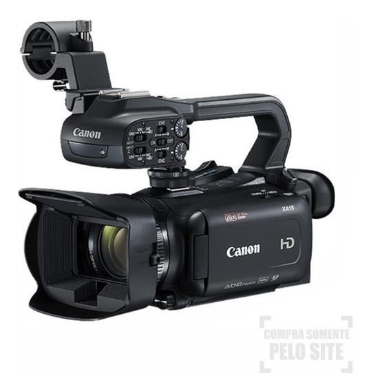Filmadora Canon Xa15 Full Hd Camcorder - Garantia Canon Br