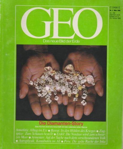 Revista Geo Nr. 3 März 1986 Germany