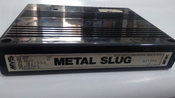 Metal Slug - Neo Geo - Cartucho Mvs - Original