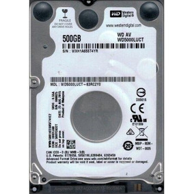 Hd 500 Gb Wd5000luct Para Notebook Western Digital