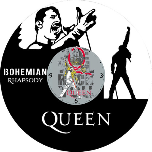 Queen Reloj En Disco Vinilo Acetato