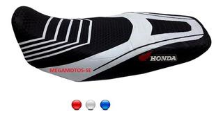 Capa Banco Moto Esportiva Honda Bros Fan Start Titan 18141