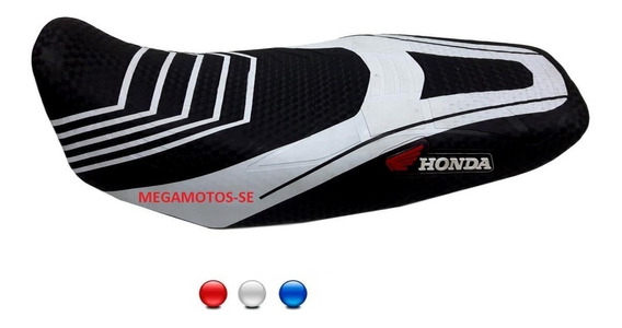Capa Banco Moto Esportiva Honda Bros Fan Start Titan 18141