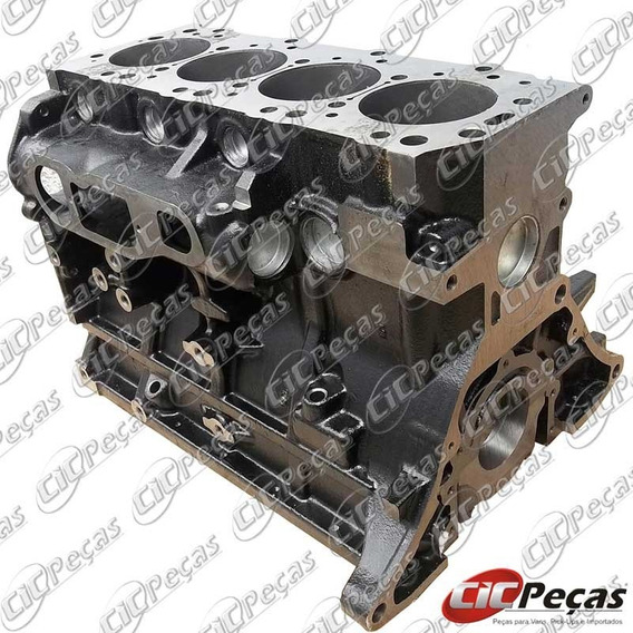 Bloco Motor Std Pelado L200 Gl/ Gls 4x4 (91/07) Quadrada