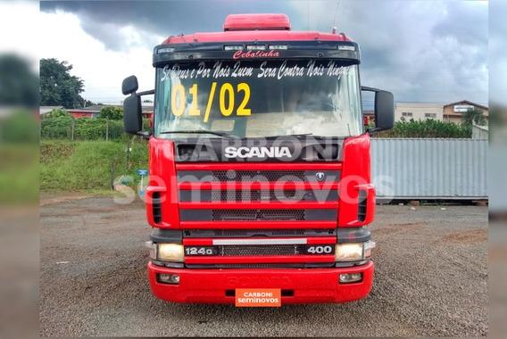 Scania R124 La 6x2 Na 400, Ano: 2001/2002