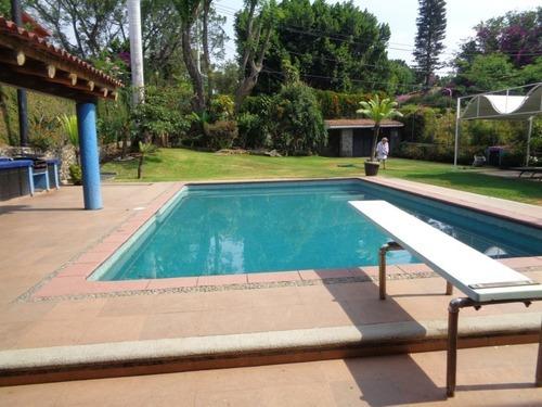 Casa En Jardines De Ahuatepec / Cuernavaca - Cbr-542-fr