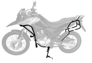 Honda Xre300 2010+ Kit Prot.motor Cavalete Sup.lateral Scam