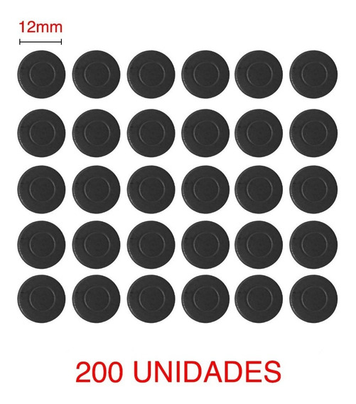 Imã Redondo 12mm Artesanato Geladeira - 200 Unidades