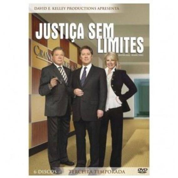 Dvd - Box Justiça Sem Limites: Terceira Temporada - 6 Discos