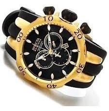 Relógio Invicta 10833 Venom Reserve Preto Dourado - Sem Pulseira