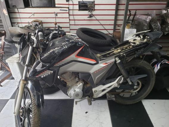 Sucata Honda Cg 160 P/ Retirada De Peças