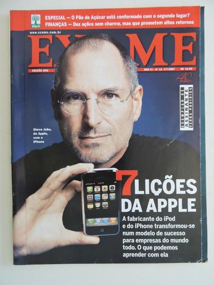 Exame #896 Steve Jobs - 7 Lições