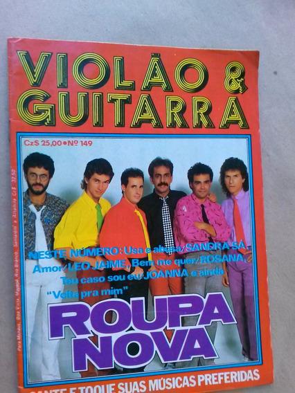 Revista - Violão & Guitarra 149 - Roupa Nova