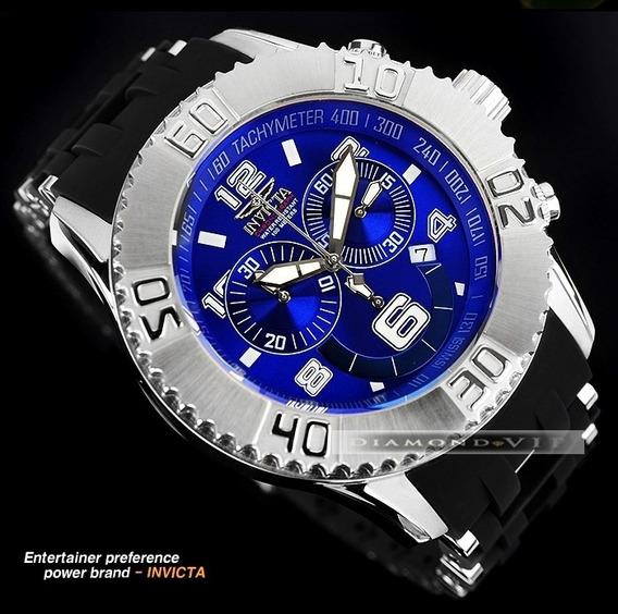 Relógio Invicta Original Masculino Novo Sea Spider Azul