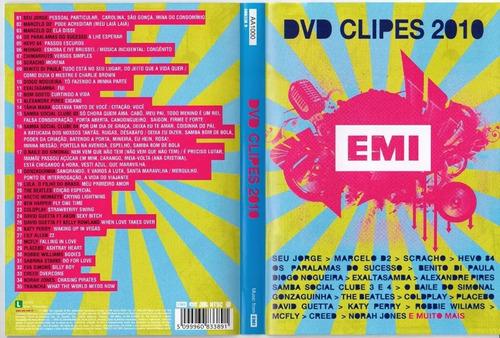Imagem 1 de 5 de Dvd Clipes 2010 Emi - Lacrado Novo