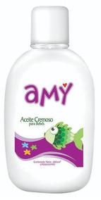 Aceite Cremoso Amy Caja De 24 Unidades Con 100 Cc C/u.
