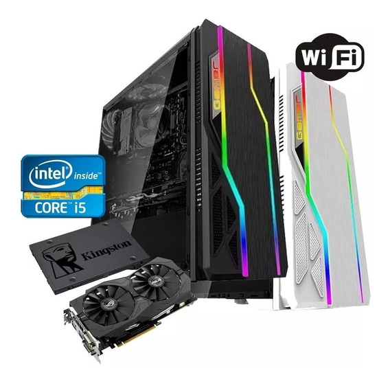 Pc Gamer Core I5 + Rx 550 2gb / 8gb Memória + Hd 500gb
