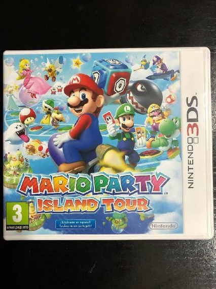 Mário Party Island Tour (nintendo 3ds)