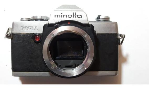 Câmera Analógica Minolta Xg1 Com Objetiva
