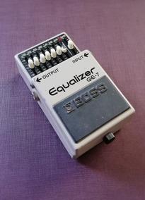 Boss Ge-7 Graphic Equalizer - Eq Mxr Bass Treble Boost Pan