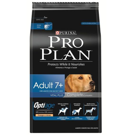 Ração Purina Proplan Adult Dog 7+ Complete 15kg