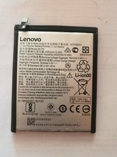 Bateira Lenovo K6 Plus Vibe Bl270 4000mah