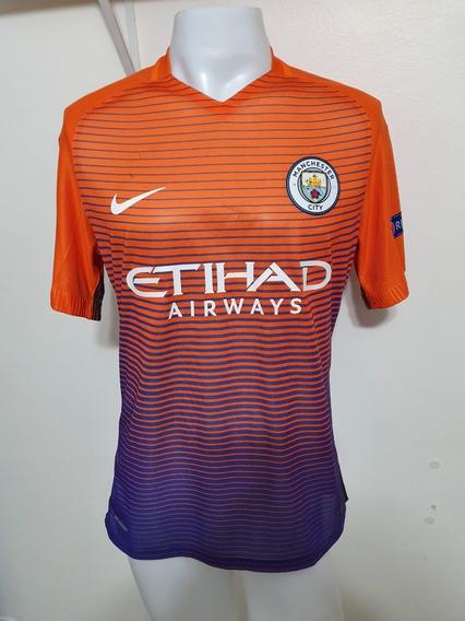 Camisa Manchester City 3rd 16-17 Kun Aguero 10 Jogador