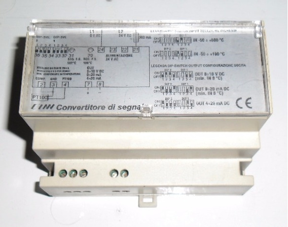 Conversor Sinal Temperatura Para Analógico 0-10v