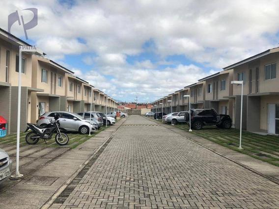 Casa Com 2 Dormitórios À Venda, 70 M² Por R$ 230.000 - Parque Santa Maria - Fortaleza/ce - Ca2921