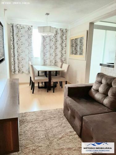 Apartamento Para Venda Em Mauá, Parque São Vicente, 2 Dormitórios, 1 Banheiro, 1 Vaga - 12867_1-1612535