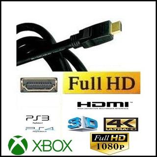 Cable Hdmi- Full Hd 1080 P- 1 Metro. Mar Del Plata