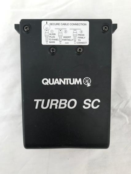 Bateria Quantum Turbo Sc Para Flashes Portáteis - Semi Novo