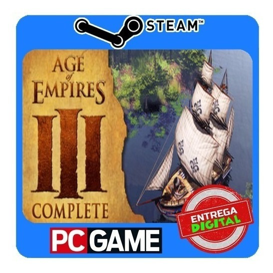 Age Of Empires 3 Iii: Complete Collection Pc Steam Key Origi