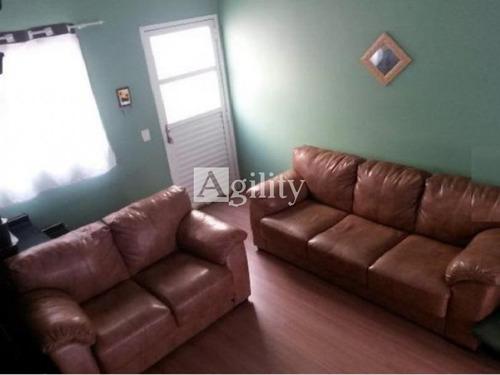 Sobrado Em Condomínio Fechado Região De Artur Alvim  -   02  Dormitórios, 01 Vaga De Garagem - 5091