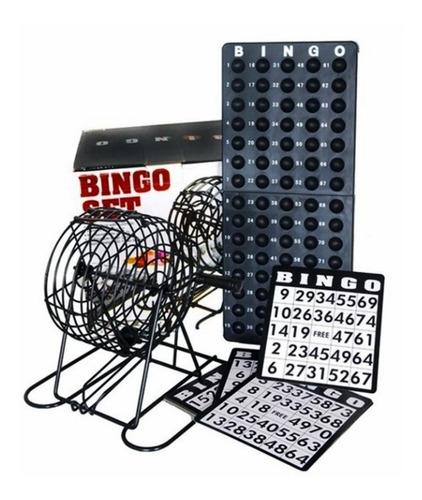 Imagen 1 de 5 de Juego Bingo Familiar Salón Mesa Emtretenimiento Balotas