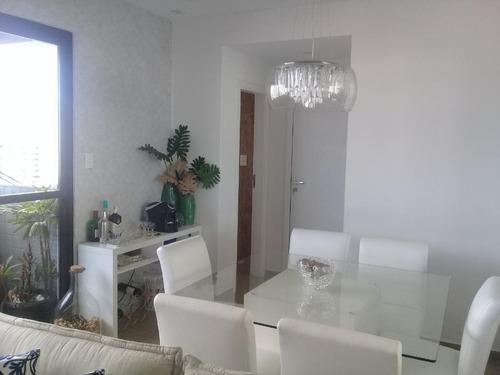 Apartamento Para Alugar, 120 M² Por R$ 6.300,00/mês - Gonzaga - Santos/sp - Ap4830