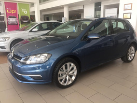 Volkswagen Vw Golf 1.4 Comfortline Tsi 2018 Azul.