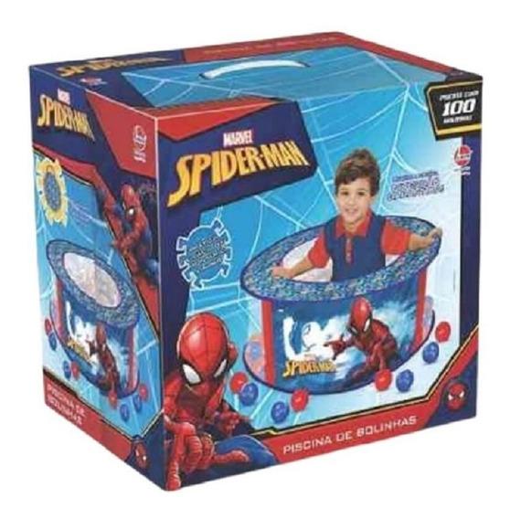 Brinquedo Piscina De Bolinha Homem Aranha - Líder