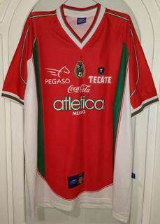 Jersey Seleccion Mexicana Atletica Año 2000 Talla Xl