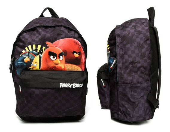 Mochila Infantil Menino Escolar Angry Birds