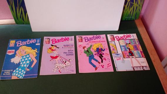 Lote De 4 Revistas Da Barbie Mattel 1992 4,7,6,9