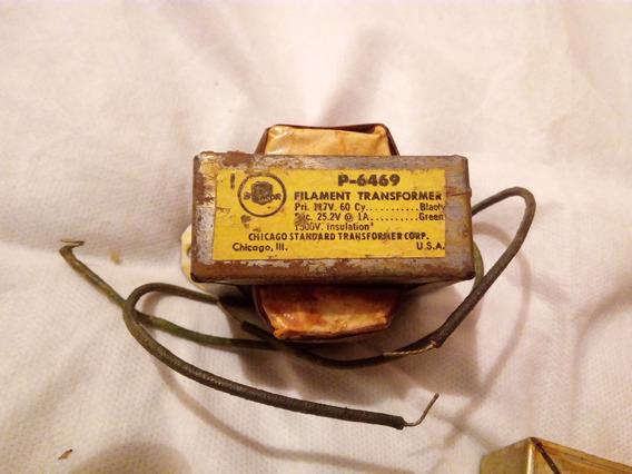 Transformador Para Rádios Antigos Stracor Mod P6469