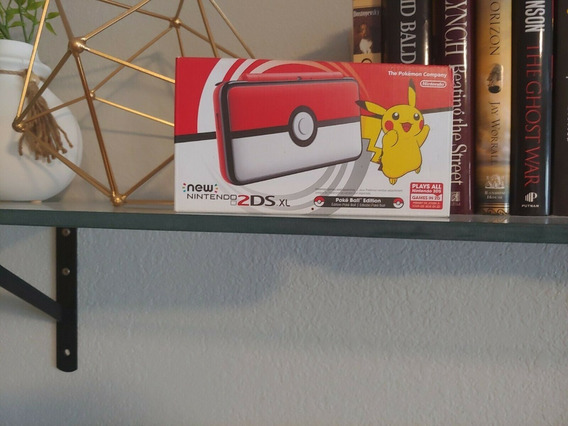 New Nintendo 2ds Xl Pokémon Pokéball Edition (novo)