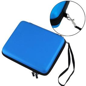 Nintendoranuras Cover Zipper Protector Cards, Azul