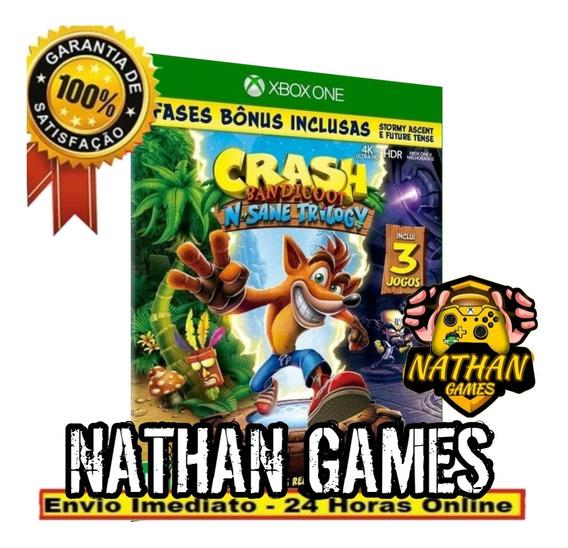 Crash Bandicoot Trilogy Digital Xbox One + 1 Jogo Grátis