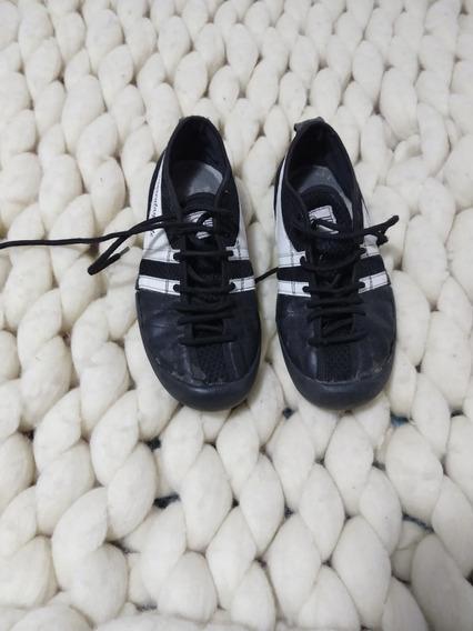 Zapatillas Negras Mujer 47 Street Para Encolar Reparar T 37