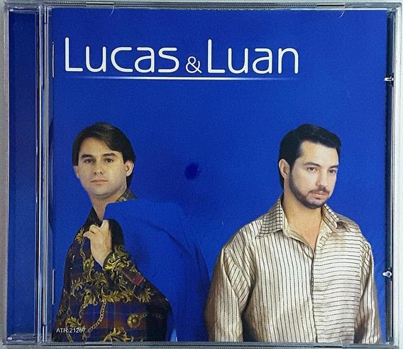 Cd Lucas E Luan -meu Tipo De Mulher - Ib
