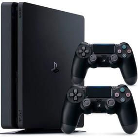 Playstation 4 Slim 1tb Ps4 Original Sony 2 Controles